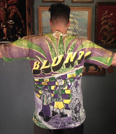 Vintage 1990's BLUNT! marijuana weed pot t-shirt