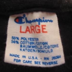 Vintage 1980's Minnesota Twins t-shirt, Champion brand, L