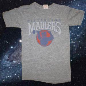 Vintage 1984 rayon blend Pittsburgh Maulers football t-shirt