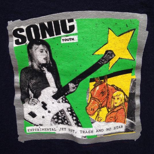 Vintage 1994 Sonic Youth Experimental Jet Set t-shirt