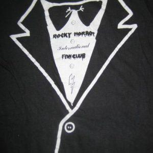 Vintage Super rare 1970's Rocky Horror Fan Club t-shirt, S