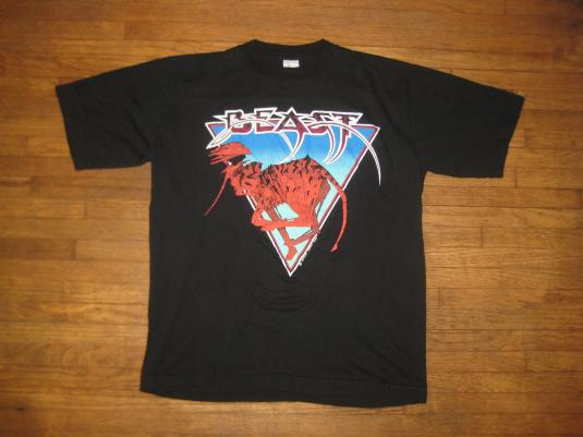 Vintage Shadow of the Beast promo t-shirt, Commodore Amiga