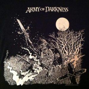 Vintage Original Army of Darkness horror movie t-shirt