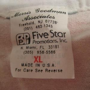 Vintage 1990 Budweiser suspenders t-shirt, L-XL