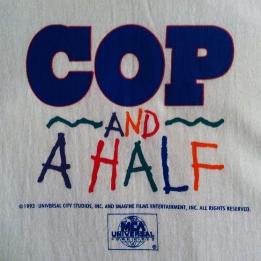 Vintage NOS Cop and a Half Burt Reynolds movie t-shirt
