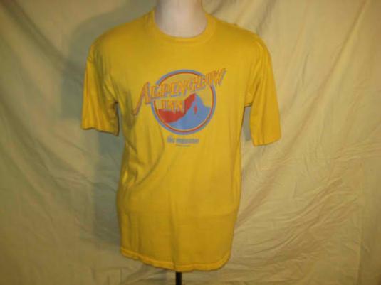 1980's Montana ski resort vintage t-shirt, L XL