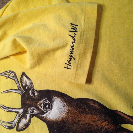 Vintage 1980's deer buck t-shirt