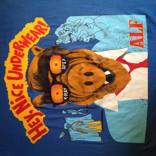 Vintage 1980's ALF X-Ray Spex t-shirt