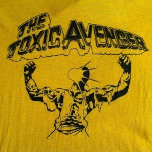 Vintage 1980's Toxic Avenger Troma horror movie t-shirt