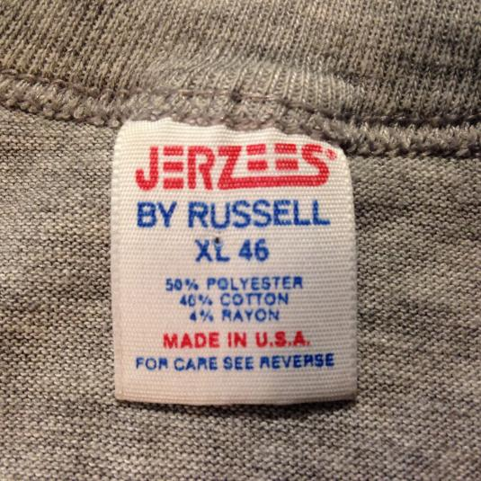 Vintage 1980's rayon blend Stroh's Beer t-shirt