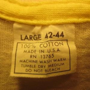 Vintage 1970's Saint Thomas sailing t-shirt, island living