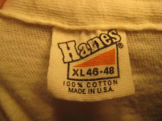 Vintage 1970s channel 4 news t-shirt, L XL
