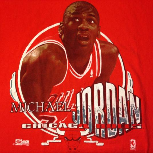 Vintage 1991 Michael Jordan Chicago Bulls t-shirt
