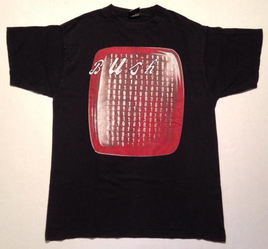 Vintage 1990's Bush (the band) Sixteen Stone t-shirt
