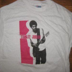 vintage 1980's Stanley Jordan jazz fusion guitarist t-shirt