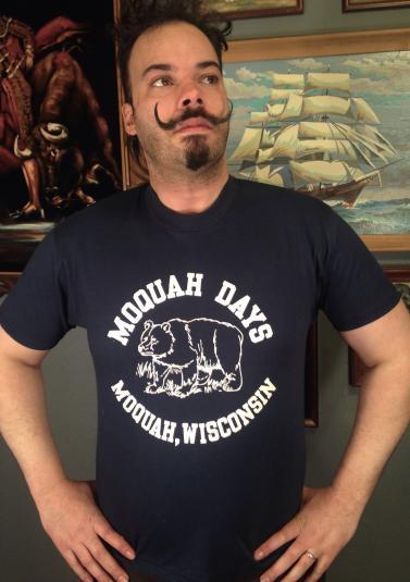 Vintage 1980's Moquah Days Wisconsin t-shirt