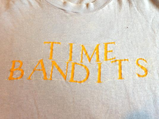 Vintage 1981 Time Bandits t-shirt