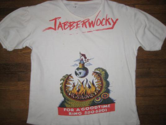 vintage Original 1970's Jabberwocky movie promo t-shirt