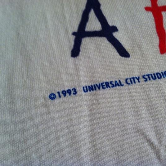 Vintage NOS 1993 Cop and a Half Burt Reynolds movie t-shirt