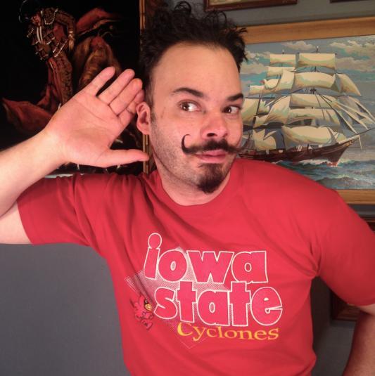Vintage 1980's Iowa State Cyclones t-shirt