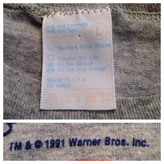 Vintage 1991 Chicago Bears Tasmanian Devil t-shirt