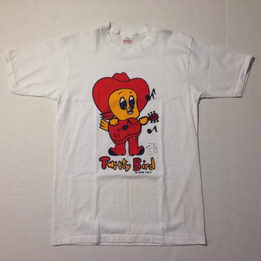Vintage 1980's Conway Twitty Tweety Bird Loony Tunes t-shirt
