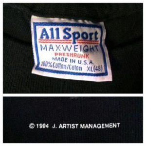 Vintage 1994 Nine Inch Nails The Downward Spiral t-shirt