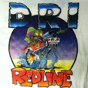 Vintage 1987 D.R.I. crossover thrash metal punk t-shirt