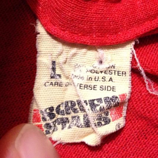 Vintage Thrashed 1980's Coca Cola Coke t-shirt