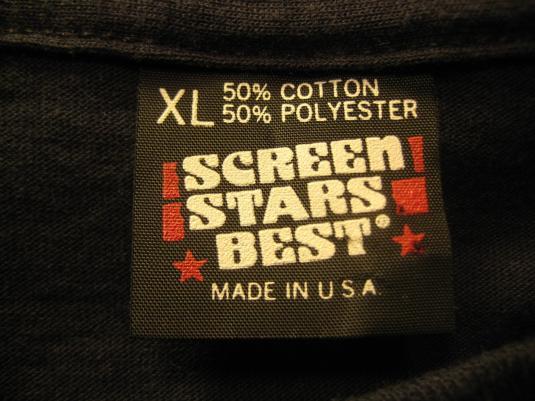 Vintage Late 1980's DARE t-shirt, L-XL, D.A.R.E.