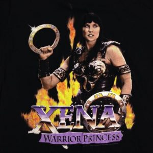 Vintage 1990's Xena Warrior Princess TV show t-shirt