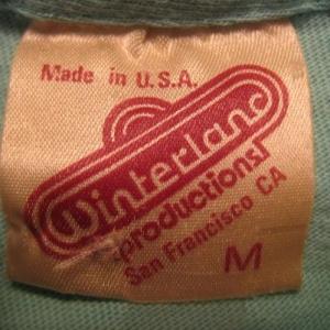Vintage 1983 Jackson Browne concert tour t-shirt, Winterland