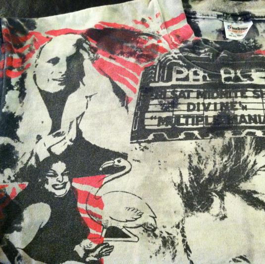 Vintage Divine Mosquitohead John Waters drag queen t-shirt
