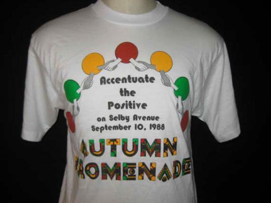 Vintage 1988 t-shirt, Afrocentric Minnesota, L