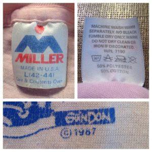 Vintage 1980's Minnesota Wild Rice soft & thin t-shirt
