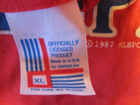 Vintage 1987 Minnesota Twins t-shirt, deadstock, L-XL