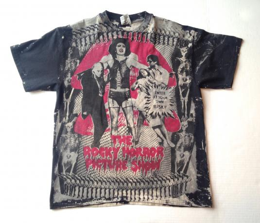 Vintage Rocky Horror Picture Show Mosquitohead movie t-shirt