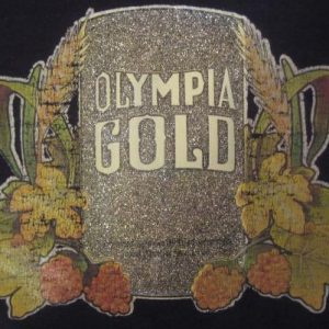 Vintage 1970's- 1980's t-shirt, Olympia Gold iron-on