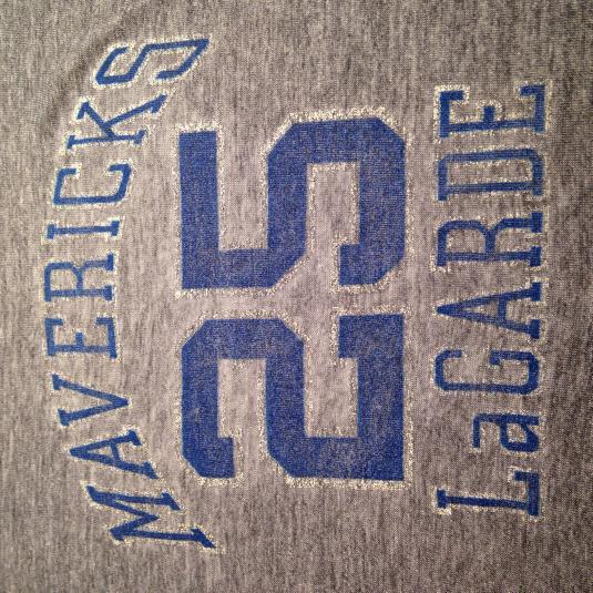 Vintage 1980-1982 Tom LaGarde Dallas Mavericks t-shirt