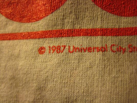 Vintage 1987 The Secret of my Success promo movie t-shirt