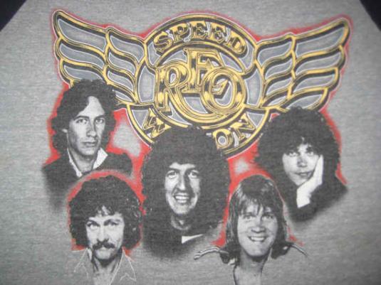 Vintage 1982 REO Speedwagon raglan t-shirt, soft and thin