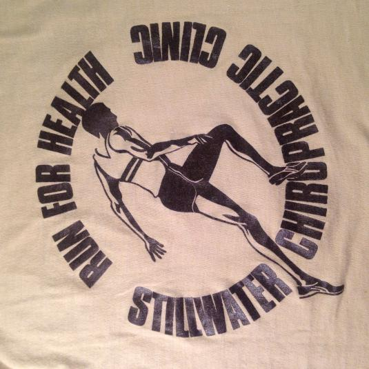 Vintage 1981 Stillwater, Minnesota marathon t-shirt