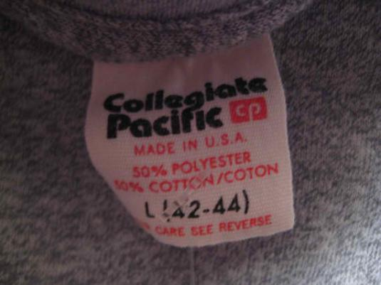Vintage 1980's gym t-shirt, super soft and thin, M L