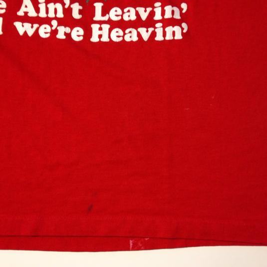 Vintage Crude 1980's University of Wisconsin Badgers t-shirt