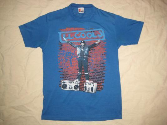 Original vintage 1987 LL Cool J t-shirt