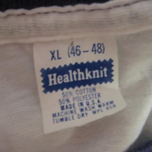 "Vintage 1980's Elephant ""Ivory"" t-shirt, soft and thin, L-XL"