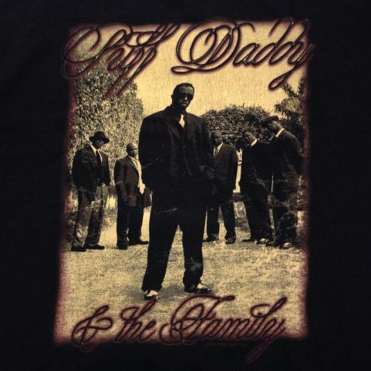 Vintage 1997 Puff Daddy P Diddy t-shirt