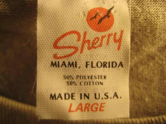 1980's Liberty puffy print vintage t-shirt, L