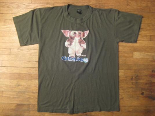 Vintage 1980's Gremlins movie t-shirt, soft and thin, large