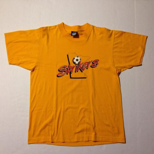 Vintage 1980's Minnesota Strikers soccer t-shirt